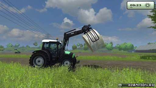 Bale clamp FL v 1.0